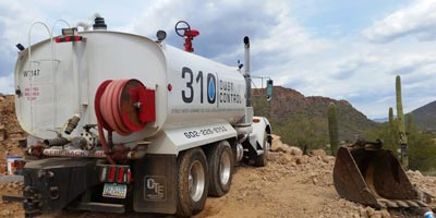 Water Delivery & Services Phoenix, AZ | 310 Dust Control